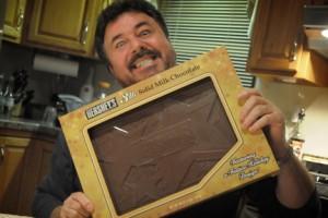A 3 pound Hershey's chocolate bar