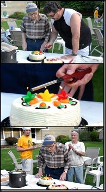 3 Up Birthday Cake