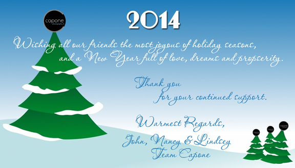 Holiday Thank you from us to you 2014