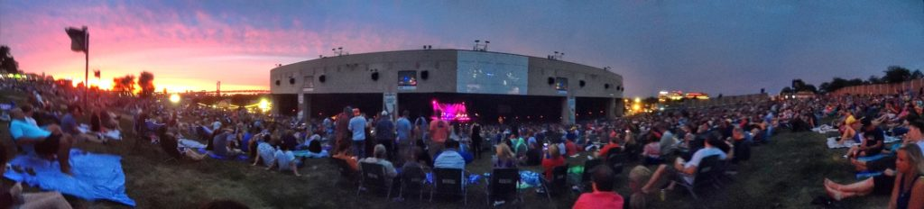 Steve Winwood and Steely Dan concert at Susquehanna Center